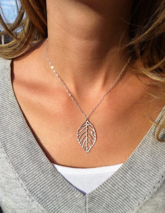 Leaf Pendants Casual chain